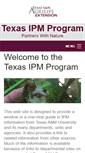 Mobile Preview of ipm.tamu.edu