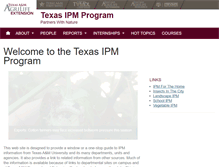 Tablet Preview of ipm.tamu.edu
